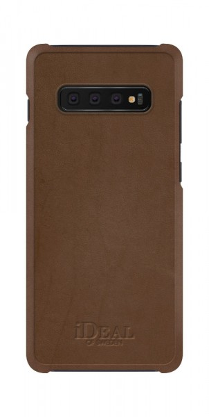 iDeal of Sweden Samsung Galaxy S10+ Fashion Case Como Brown PU-Leather