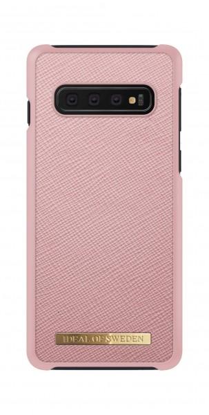 iDeal of Sweden Samsung Galaxy S10 Fashion Case Saffiano Pink