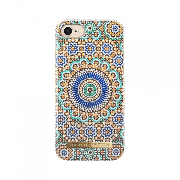 iDeal of Sweden Fashion Back Case Moroccan Zellige voor iPhone 8 7