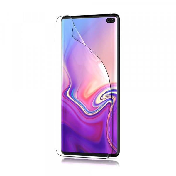 BeHello Samsung Galaxy S10+ Screen Protector Anti-Fingerprint Glossy