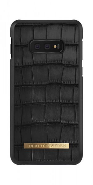iDeal of Sweden Samsung Galaxy S10e Fashion Case Capri Black Croco