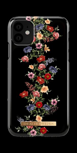 iDeal of Sweden iPhone 11 Fashion Back Case Dark Floral