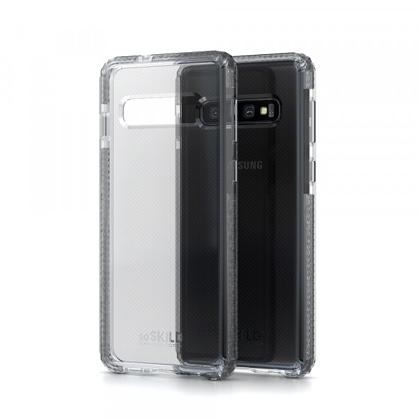 SoSkild Samsung Galaxy S10 Defend Heavy Impact Case Transparant