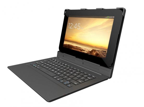 ZAGG Universal Keyboard Case Bluetooth Folio Android 10Inch Black