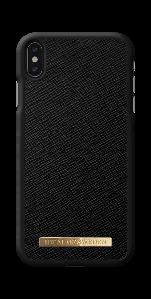 iDeal of Sweden iPhone XS Max Fashion Case Saffiano Black