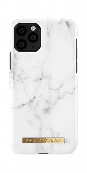 iDeal of Sweden iPhone 11 Pro Fashion Back Case White Marble
