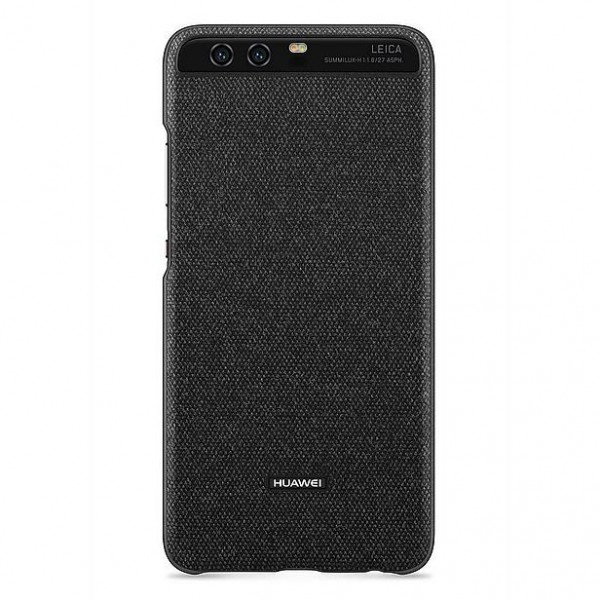 Huawei P10 Cover Back Case Dark Grey