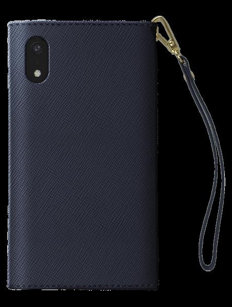 iDeal of Sweden Mayfair Clutch Navy Blauw voor iPhone Xr
