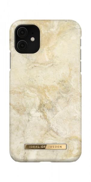 iDeal of Sweden iPhone 11 / XR Fashion Case Sandstorm Marble