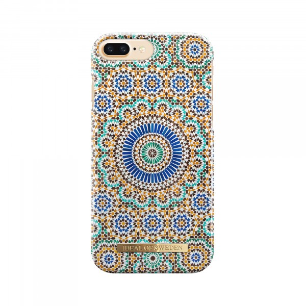 iDeal of Sweden Fashion Back Case Moroccan Zellige voor iPhone 8 Plus 7 Plus