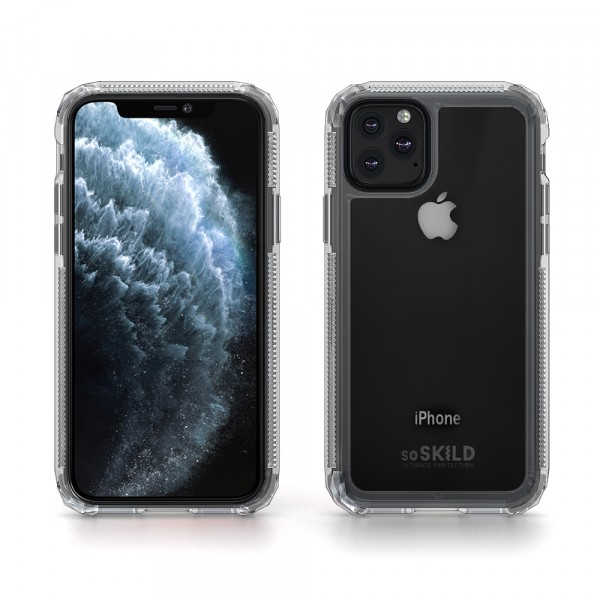 SoSkild iPhone 11 Pro Defend 2.0 Heavy Impact Case Transparant