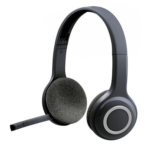 Logitech Headset LGT-H600 Wireless Black
