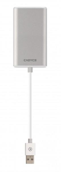 Cadyce USB 2.0 naar HDMI Adapter Zilver