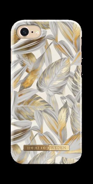 iDeal of Sweden iPhone 8 / 7 / 6S / 6 Fashion Back Case Platinum Leaves