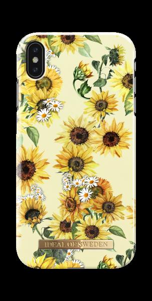 iDeal of Sweden iPhone XS Max Fashion Back Case Sunflower Lemonade