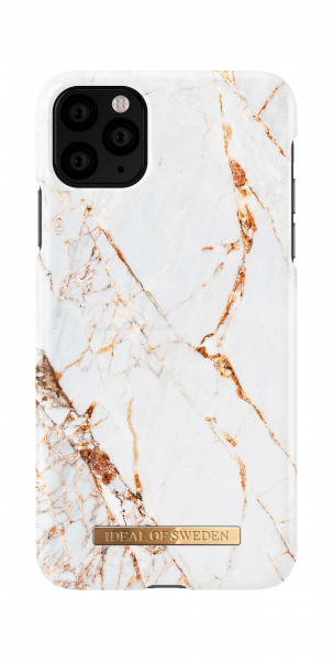 iDeal of Sweden iPhone 11 Pro Max Fashion Back Case Carrara Gold