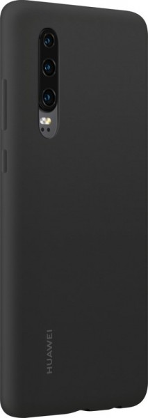Huawei P30 Silicone Cover Case Black