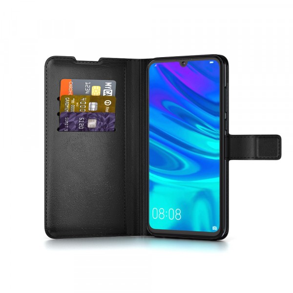BeHello Huawei P Smart (2019) Gel Wallet Case Zwart