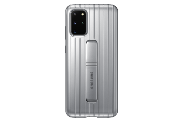 Samsung Galaxy S20+ Protective Standing Cover Silver