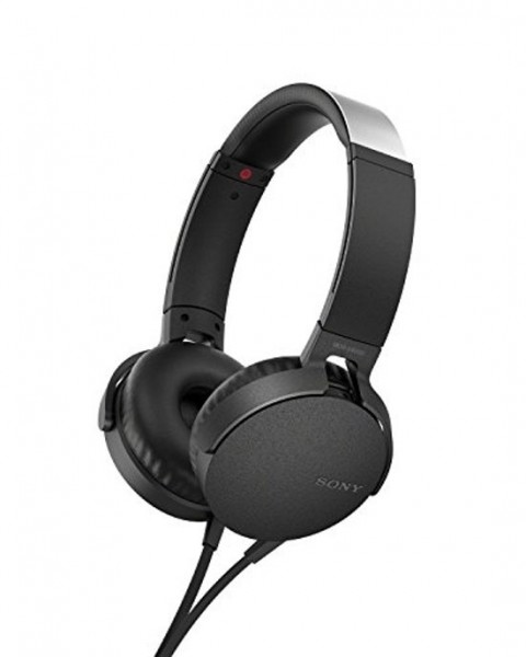 Sony On-Ear Headphone SONMDRXB550APB.CE7 Black