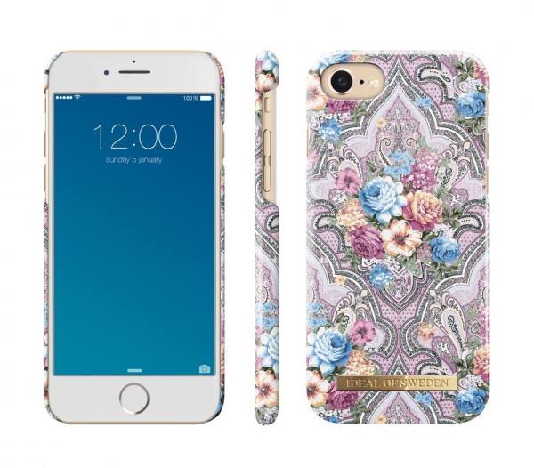 iDeal of Sweden Fashion Back Case Romantic Paisley voor iPhone 8 / 7 / 6 / 6S