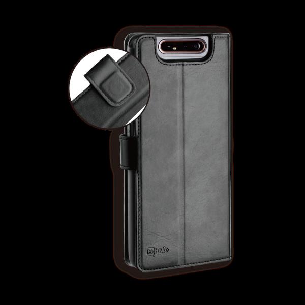 BeHello Samsung Galaxy A80 Gel Wallet Case Black