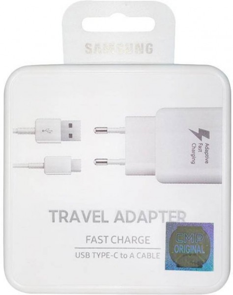 Samsung Travel Charger USB-C 2000mAH Fast Charging White