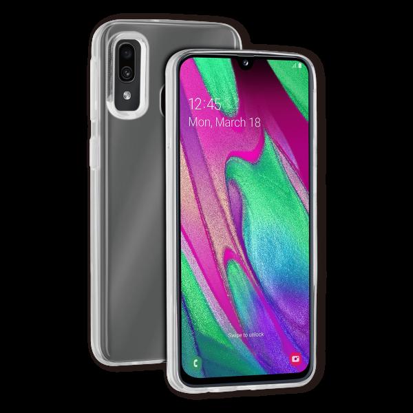 BeHello Samsung Galaxy A40 ThinGel Siliconen Hoesje Transparant