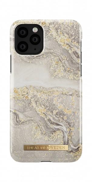 iDeal of Sweden iPhone 11 Pro Fashion Back Case Sparkle Greige Marble