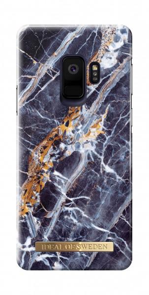 iDeal of Sweden Samsung Galaxy S9 Fashion Back Case Midnight Blauw Marble
