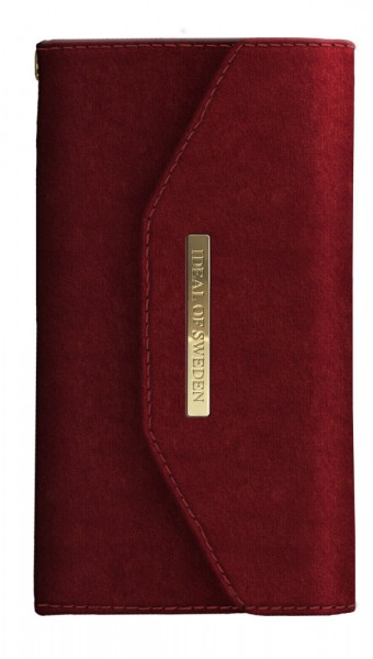 iDeal of Sweden Samsung Galaxy S10+ Mayfair Clutch Velvet Red