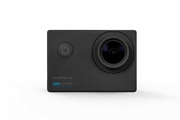 Kaiser Baas X200 Action Camera 1080p 30 FPS 5MP 4G Lens Zwart