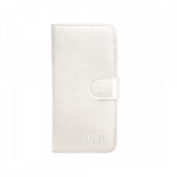 iDeal of Sweden iPhone XS/X Magnet Wallet+ White