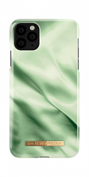 Ideal of Sweden iPhone 11 Pro Max/XS Max Fashion Back Case Pistachio Satin