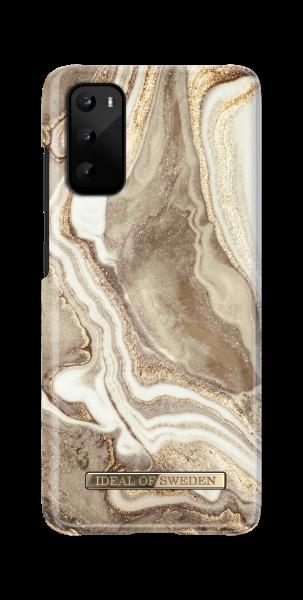 iDeal of Sweden Samsung S20 Fashion Back Case Golden Sand Marble
