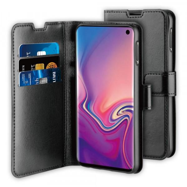BeHello Samsung Galaxy S10E Hoesje - Gel Wallet Case Met Ruimte Voor 3 Pasjes Zwart