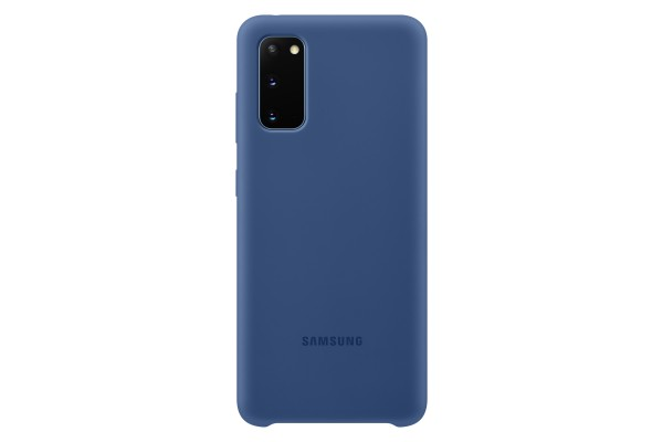 Samsung Galaxy S20 Silicone Cover Navy