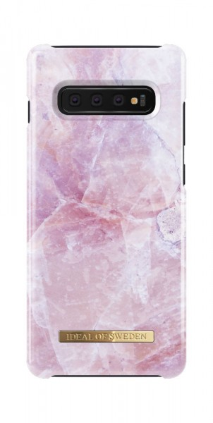 iDeal of Sweden Samsung Galaxy S10+ Fashion Back Case Pilion Pink Marble