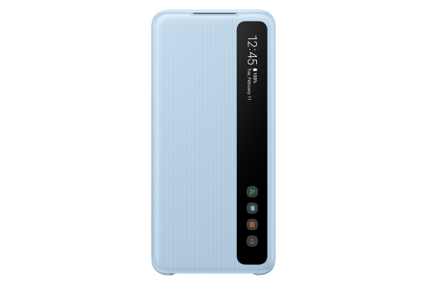 Samsung Galaxy S20 Clear View Cover Sky Blue