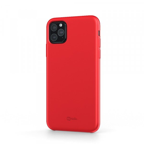 BeHello iPhone 11 Pro Liquid Silicone Case Red