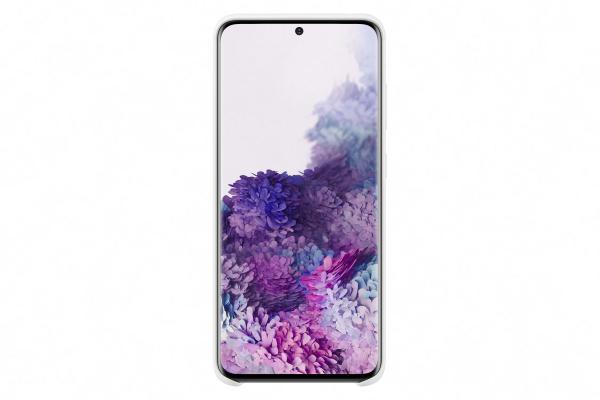 Samsung Galaxy S20 Silicone Cover White
