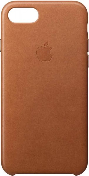 Apple iPhone 8 / 7 Back Case Leather Brown
