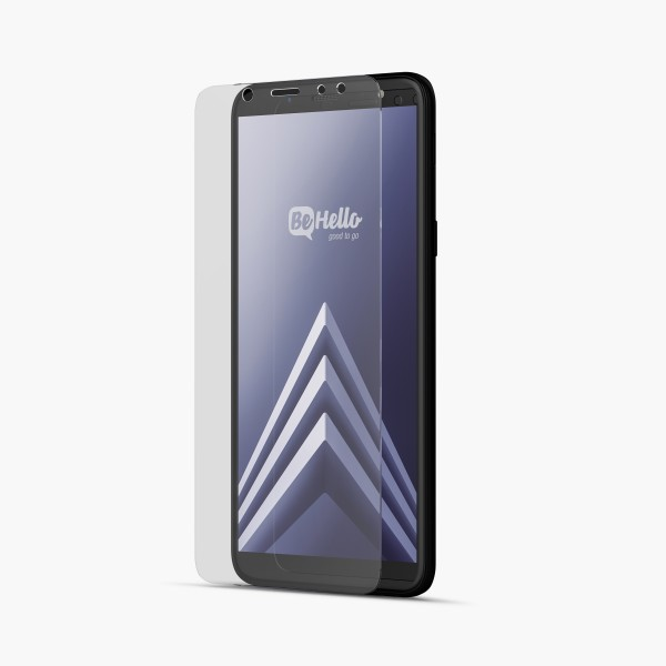BeHello Samsung Galaxy A6 Screenprotector Tempered Glass - High Impact Glass