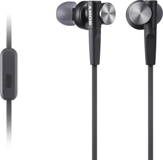 Sony In-Ear Headphone SONMDRXB50APB.CE7 Black