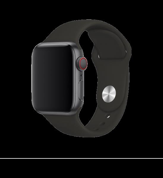 BeHello Premium Siliconen Band 42/44mm voor Apple Watch Zwart