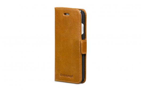 dbramante1928 Wallet Case Tan voor iPhone 8 7 6s 6