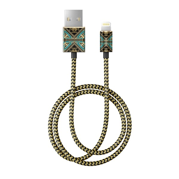 iDeal of Sweden Charge and Sync Lightning Fashion Cable 1m Baroque Ornament