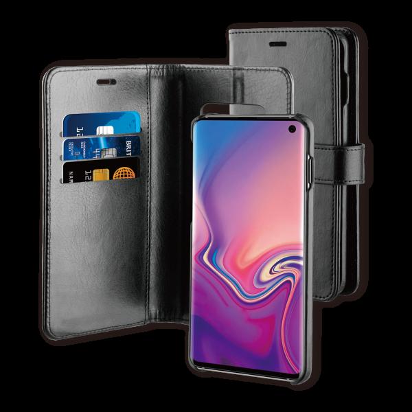 BeHello Samsung Galaxy S10 Hoesje I 2-in-1 Wallet Case met Ruimte Voor 3 Pasjes Zwart