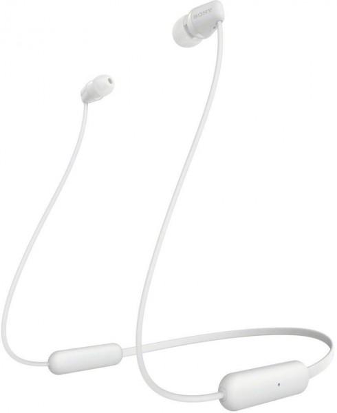Sony In-Ear Wireless Headphone WIC200W.CE7 White