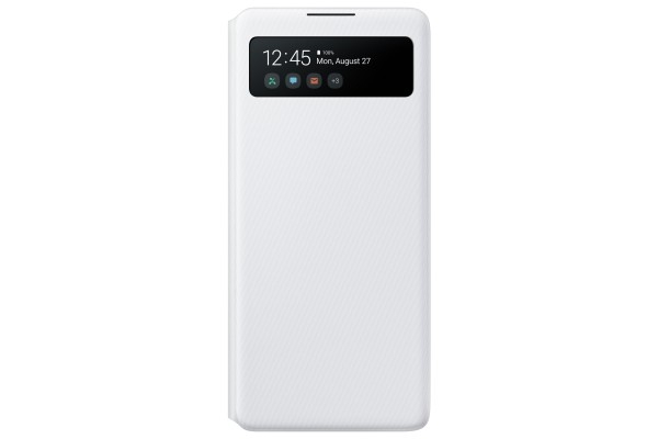 Samsung S10 Lite S View Wallet Cover White